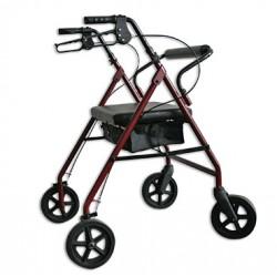 Rollator 4 roues bariatrique