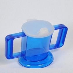 Tasse Handycup Néon bleue