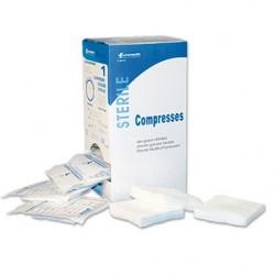 Compresse 10x10 tissée stérile