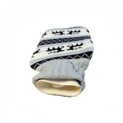Bouillotte tricotée...